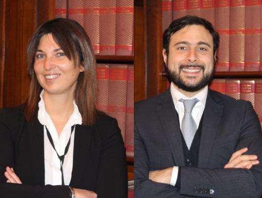 Chiara Cracolici e Alessandro Curletti